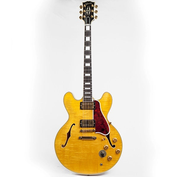 2001 Gibson ES-335, Blonde Beauty - Garrett Park Guitars  - 4