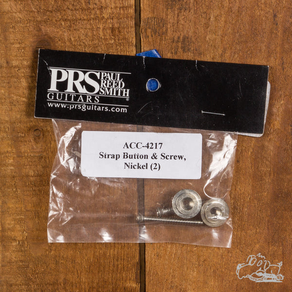 PRS Guitars Nickel Strap Buttons and Screws