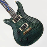 1994 PRS Dragon III #24 Lefty Teal Black, Randy Perry Collection - Garrett Park Guitars  - 1