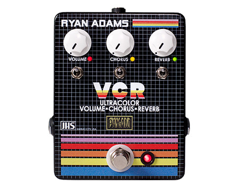 "JHS - Ryan Adams' ""The VCR"" Ultracolor Volume, Chorus, Reverb Pedal"