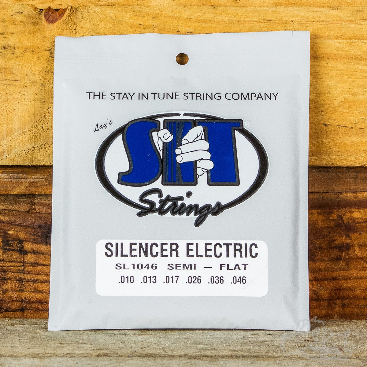 S.I.T. Silencer Semi-Flat Electric Guitar Strings