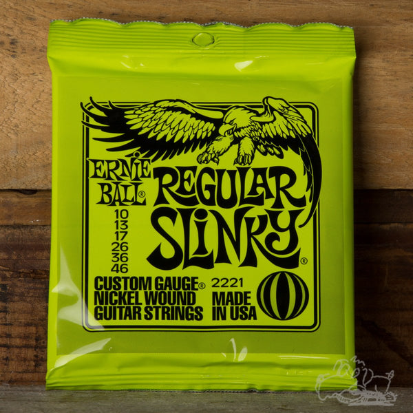 Ernie Ball Slinky Electric Guitar Strings