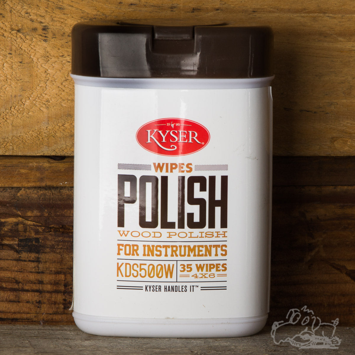 "Kyser Wipes Wood Polish for Instruments 4""x6"" (35 Wipes)"