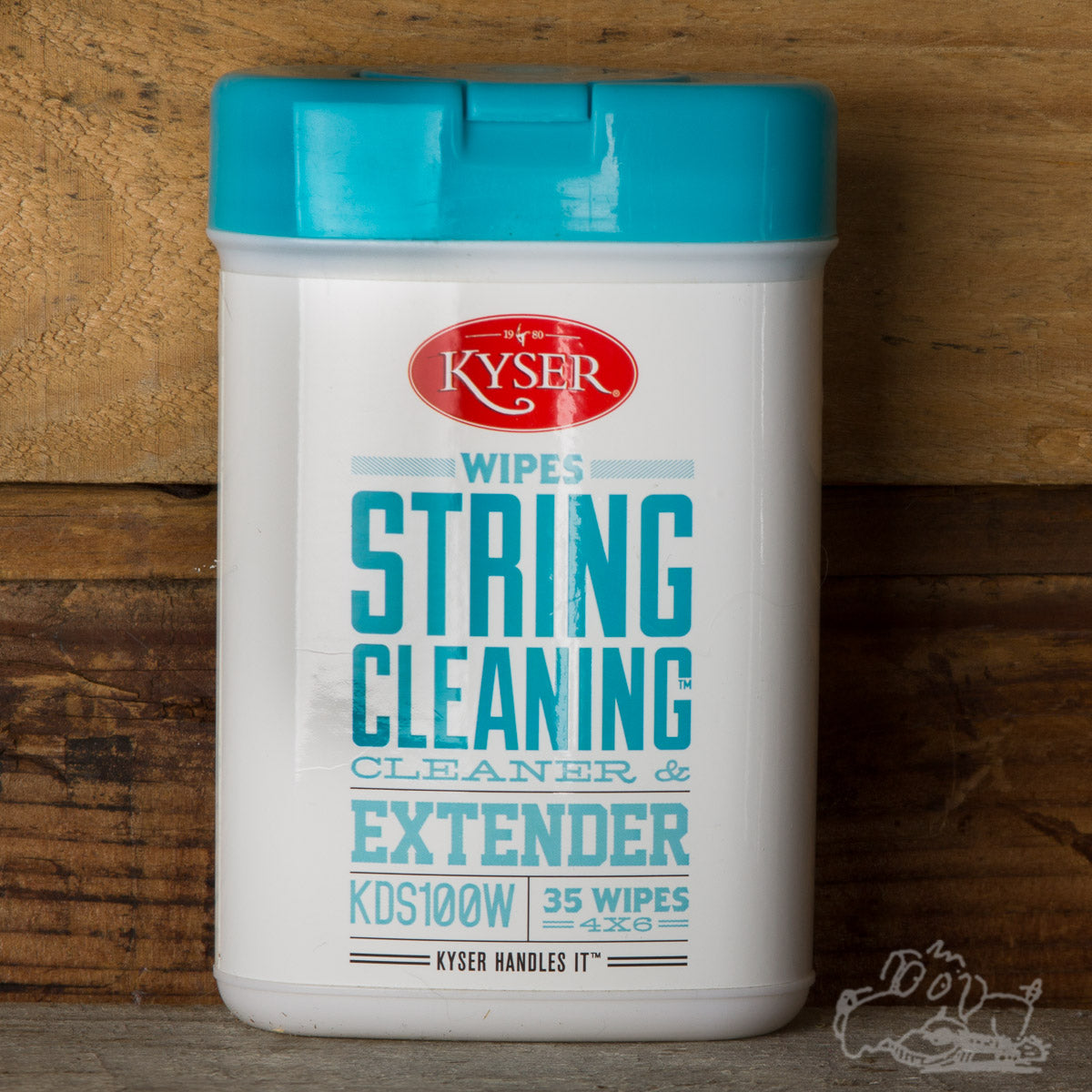 Kyser Wipes String Cleaner & Extender - 4x6 Wipes (35 Wipes)