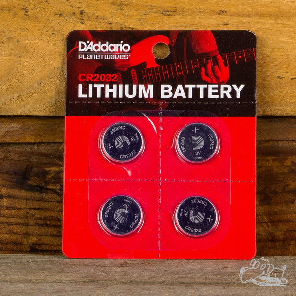 D'Addario CR2032 Lithium Batteries
