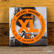 D'Addario XL Electric Guitar Strings Nickel Wound Light 10-46 3-Pack