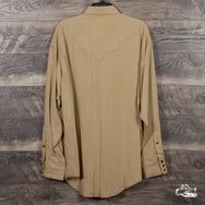 Rockmount Ranch Wear - Men's Sueded Tencel Taupe Western Shirt