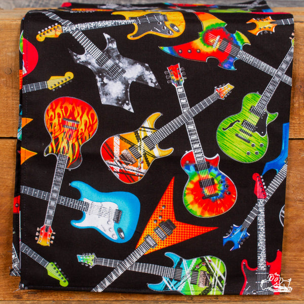 Rockmount Ranch Wear - Electric Guitars Western Cotton Bandana - Black