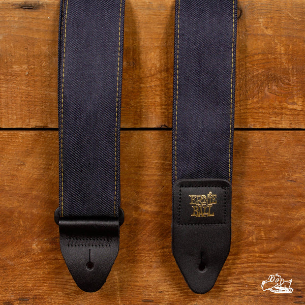 Ernie Ball Rinsed Denim Straps
