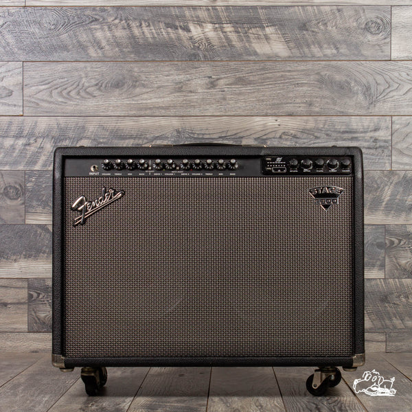 "Fender Stage 1600 2-Channel 160-Watt 2x12"" Solid State Guitar Combo Amplifier"