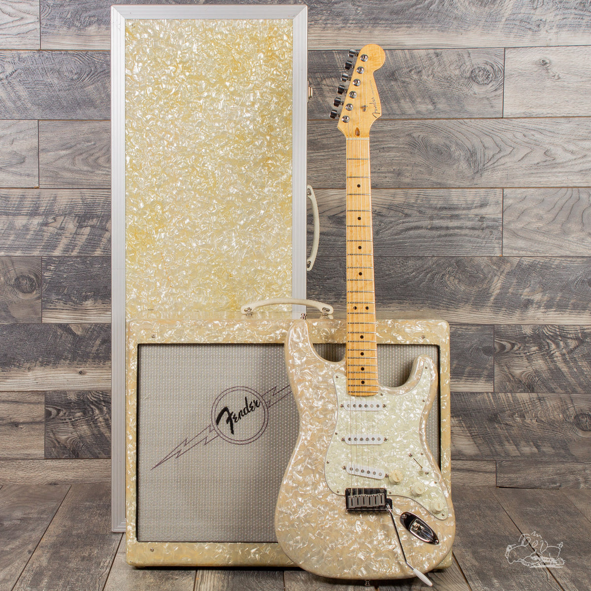 1995 Fender Custom Shop Moto Stratocaster and Blues Deluxe Set - #32 of 250