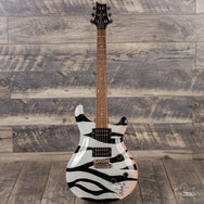1991 PRS CE-Nugent Whackmaster Zebra Rocker - Signed with Letter of Authenticity