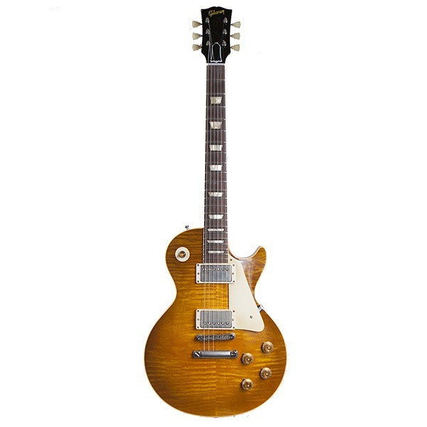 2009 Gibson Les Paul R9, Dave Johnson Makeover, Butterscotch - Garrett Park Guitars  - 4