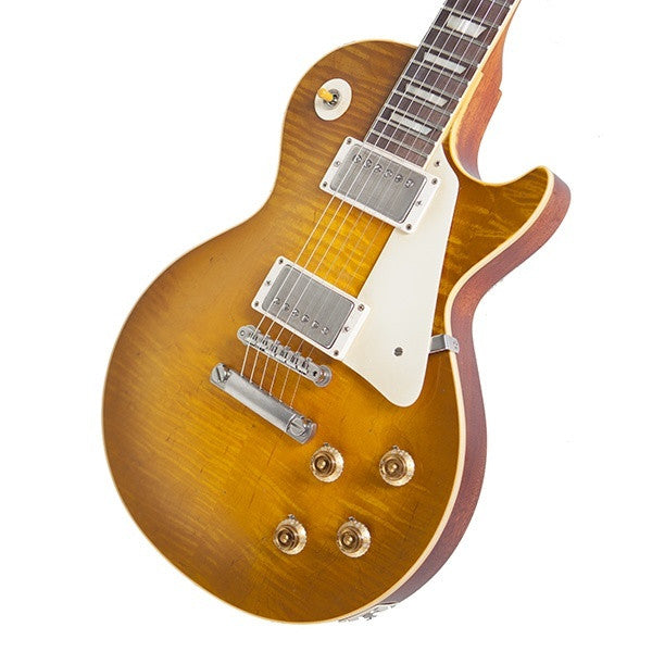 2009 Gibson Les Paul R9, Dave Johnson Makeover, Butterscotch - Garrett Park Guitars  - 3