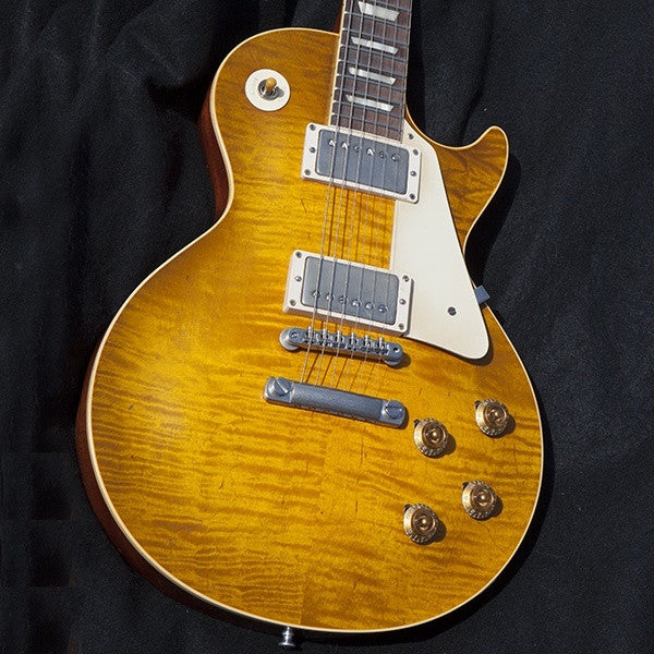 2009 Gibson Les Paul R9, Dave Johnson Makeover, Butterscotch - Garrett Park Guitars  - 15