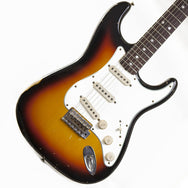 2011 Fender Stratocaster Custom Shop '65 Relic, Sunburst - Garrett Park Guitars  - 1