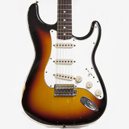 2011 Fender Stratocaster Custom Shop '65 Relic, Sunburst - Garrett Park Guitars  - 2