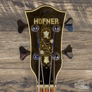 1970's Hofner 500/8 Hollowbody Bass