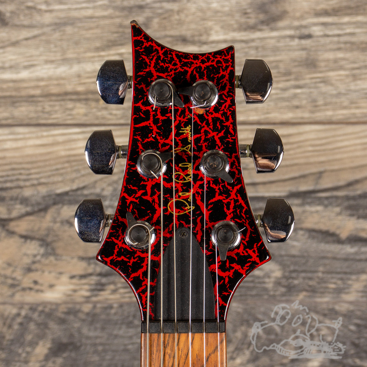 1988 PRS Standard Red Crackle