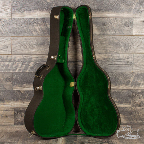 Early '60's Martin Acoustic Case - Green-Lined