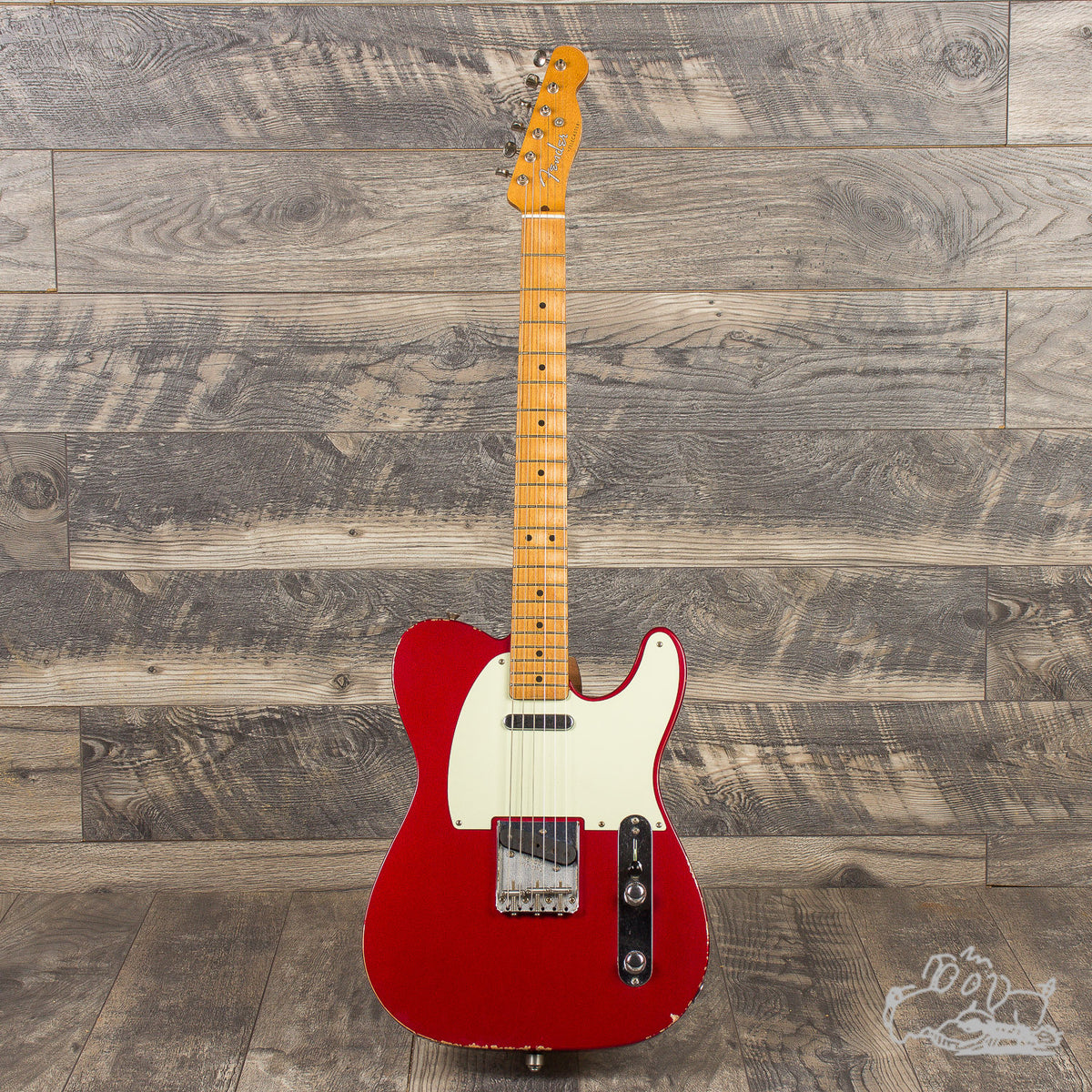2018 Fender Road Worn Telecaster Special Edition - Candy Apple Red