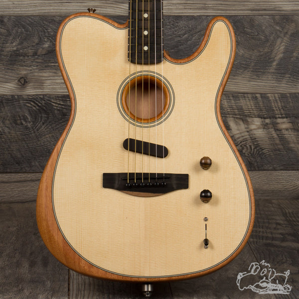 Fender Acoustasonic Telecaster - Natural Finish