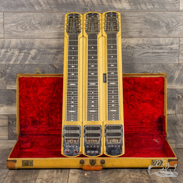 1955 Fender Stringmaster 3-Neck Lap Steel
