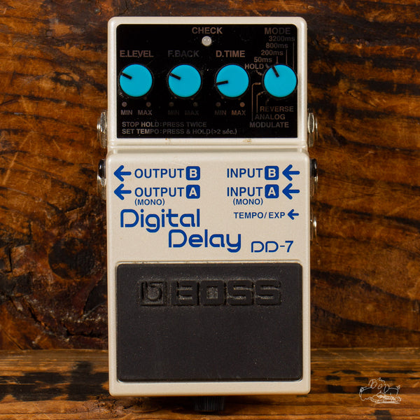 Previously Owned Boss DD-7 Digital Delay Pedal - Make an Offer