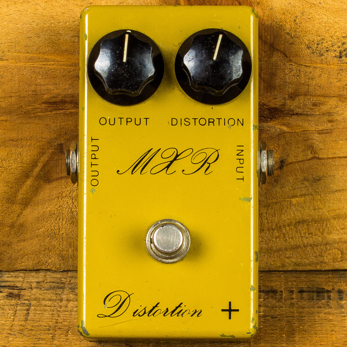 1976 MXR Distortion + Script logo