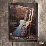 2012 Washburn Starfire Time Traveler-Paul Stanley of Kiss