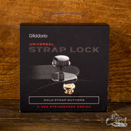 Planet Waves Universal Strap Lock System - Gold