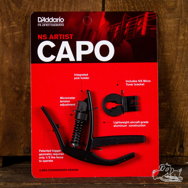 D'Addario Planet Waves NS Artist Capo