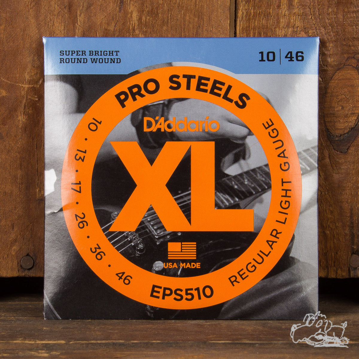 D'Addario Pro Steels Nickel Wound Six String Set 10-46 (EPS510)