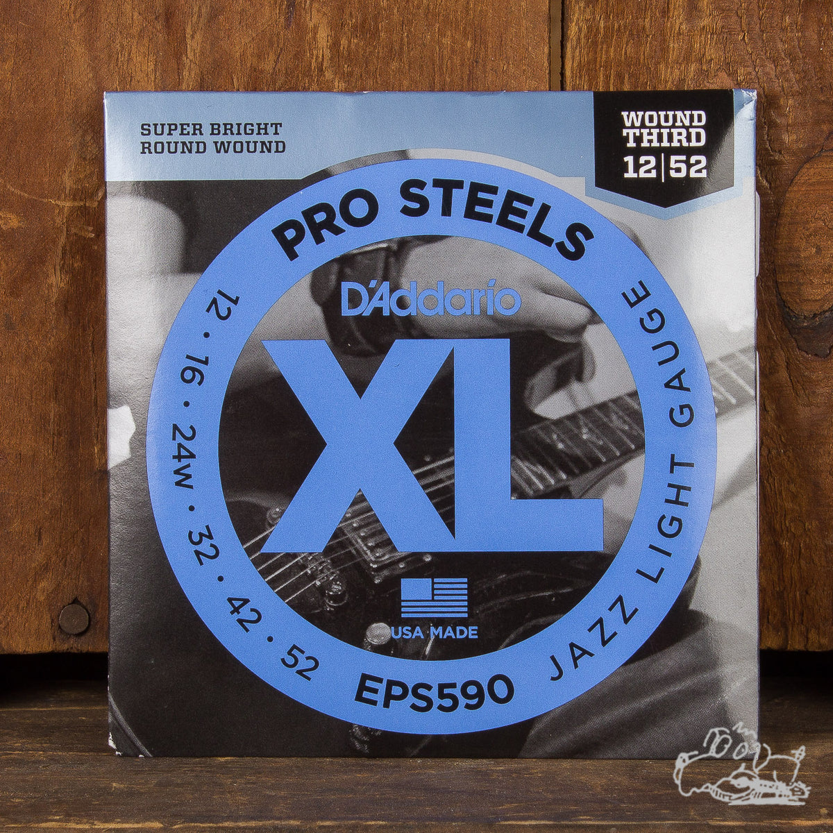 D'Addario Pro Steels Jazz Light Gauge 12-52 (EPS590)