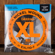 D'Addario Nickel Wound Seven String Set 10-59 (EXL110-7)