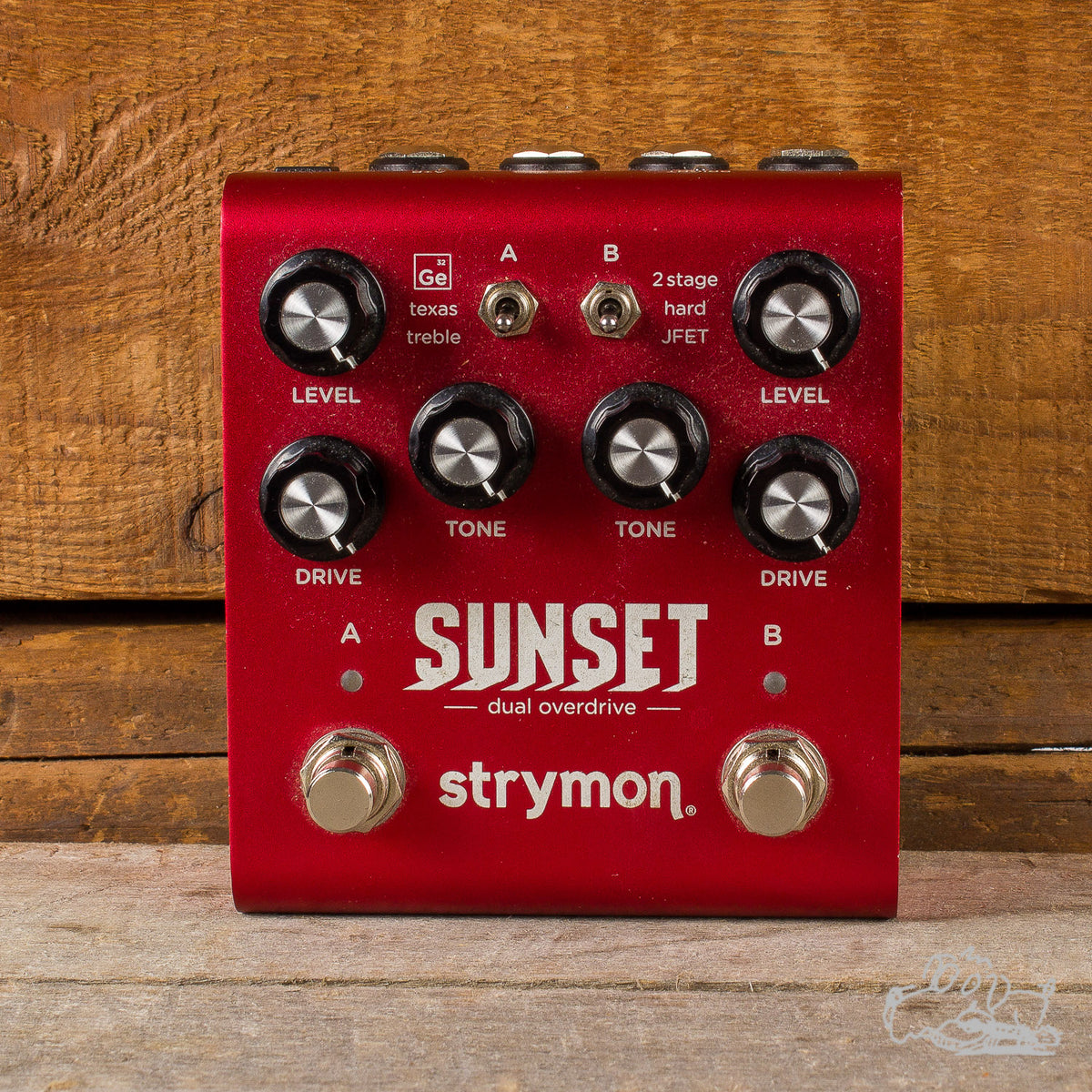Used Strymon Sunset Dual Overdrive Guitar Pedal
