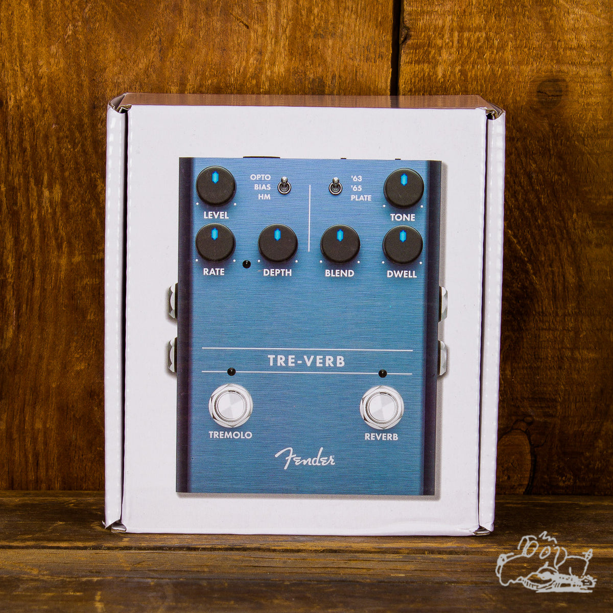 Fender Tre-Verb Tremolo And Reverb Pedal
