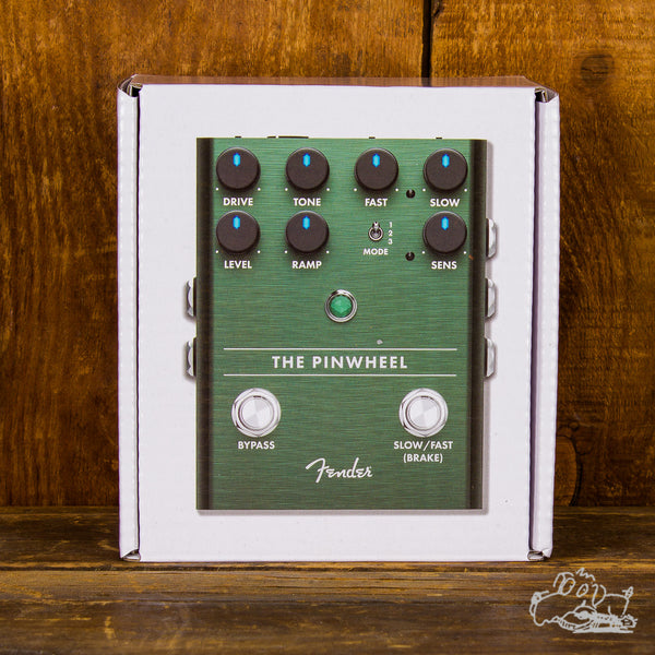 "Fender ""The Pinwheel"" Rotary Speaker Emulator Pedal"