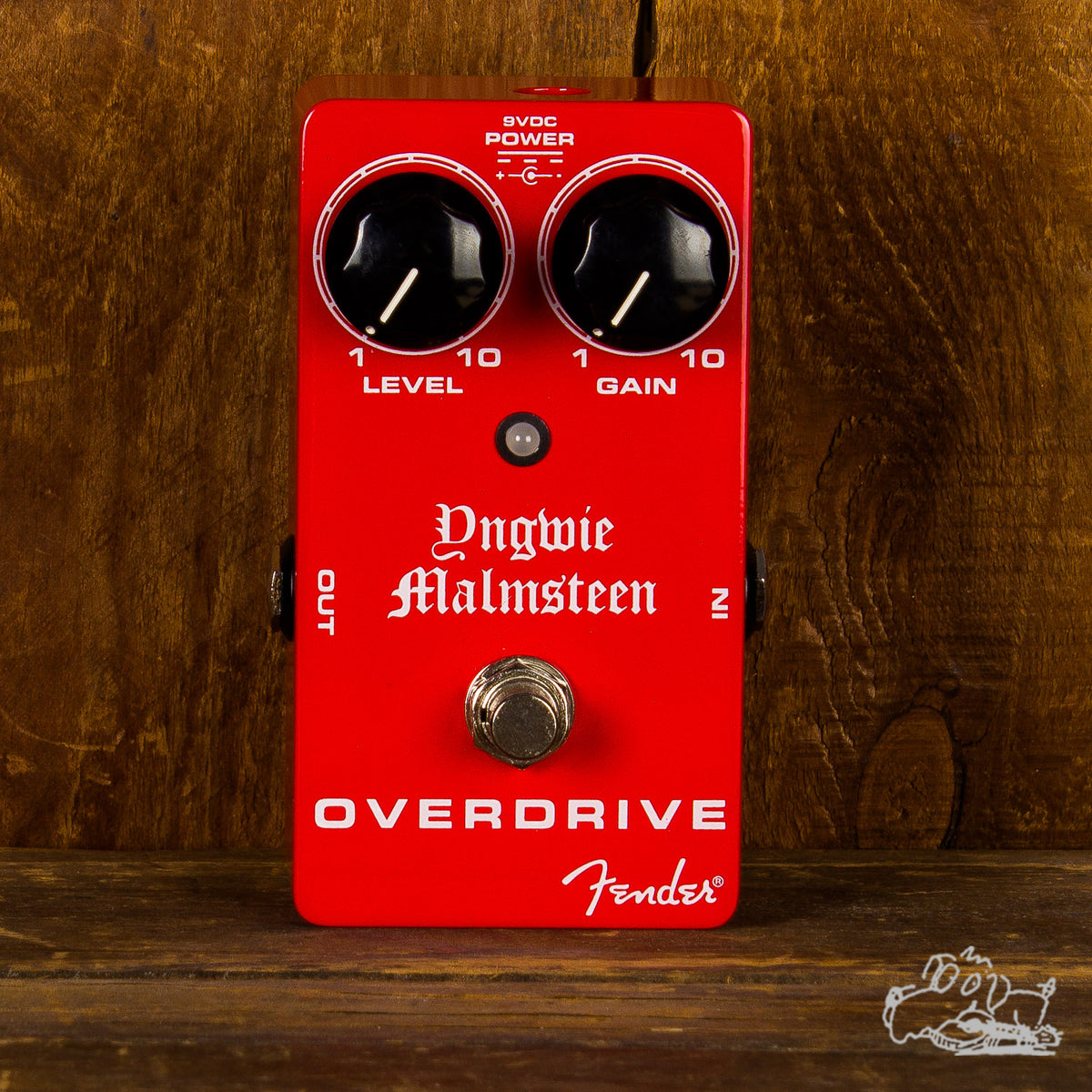Fender Yngwie Malmsteen Overdrive Guitar Pedal