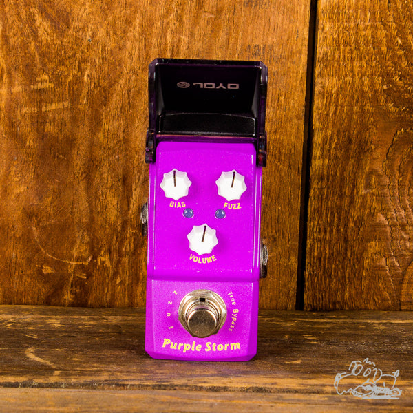 Joyo Purple Storm Fuzz (JF-320) - Mini Fuzz Guitar Pedal