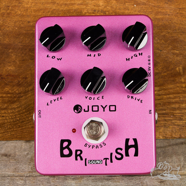 Joyo British Sound Amp Simulator Pedal