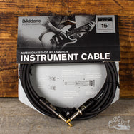 D'Addario 15 Foot American Stage Killswitch Instrument Cable