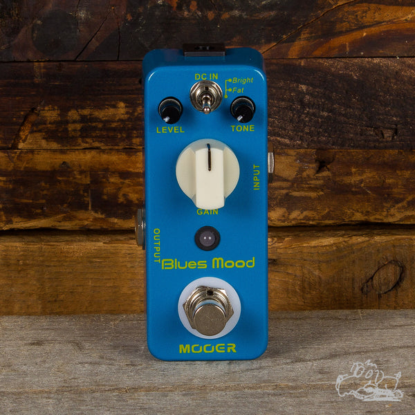 Mooer Blues Mood Micro Series Overdrive Pedal