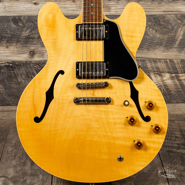 1992 Gibson ES-335 Dot Figured Top in Antique Natural