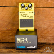 Boss SD-1 Super OverDrive & Distortion Guitar Pedal