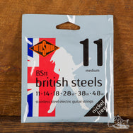 Rotosound British Steel Stainless Steel Electric Guitar Strings 9s, 10s, and 11s