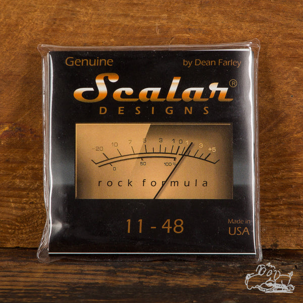 Scalar Designs Rock Formula 11-48 Electric Guitar Strings
