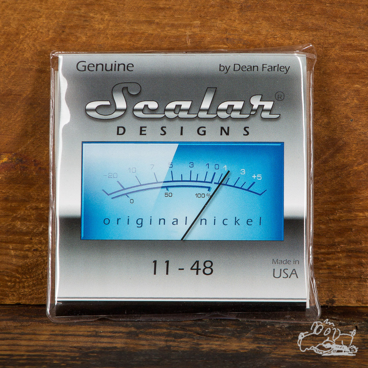 Scalar Designs Original Nickel 11-48 Electric Guitar Strings