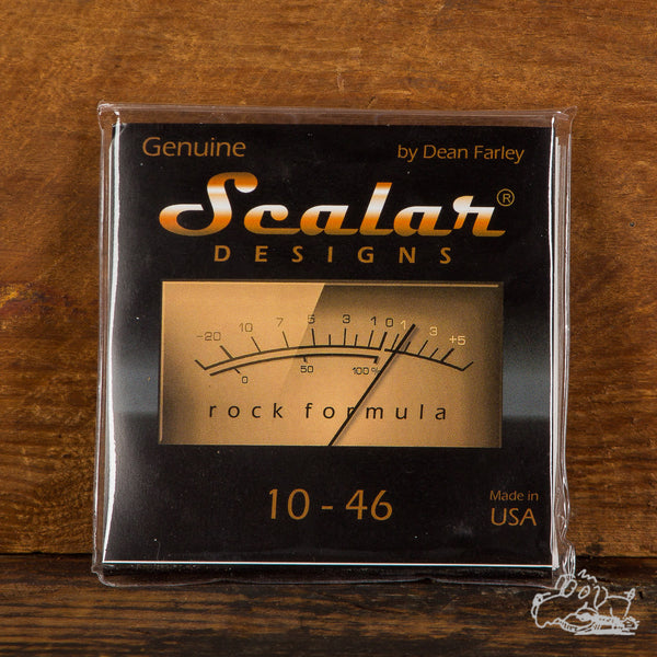 Scalar Designs Rock Formula 10-46 Electric Guitar Strings