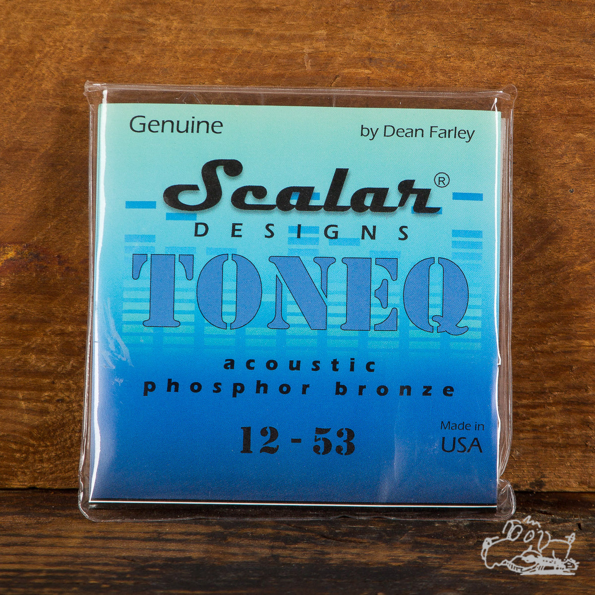 Scalar Designs ToneQ Phosphor Bronze 12-53 Acoustic Guitar Strings
